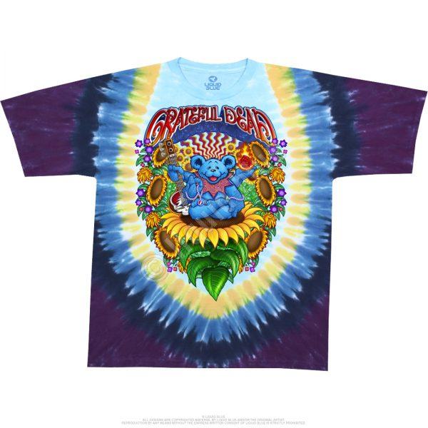 Grateful Dead Guru Bear Tie Dye T-Shirt-0