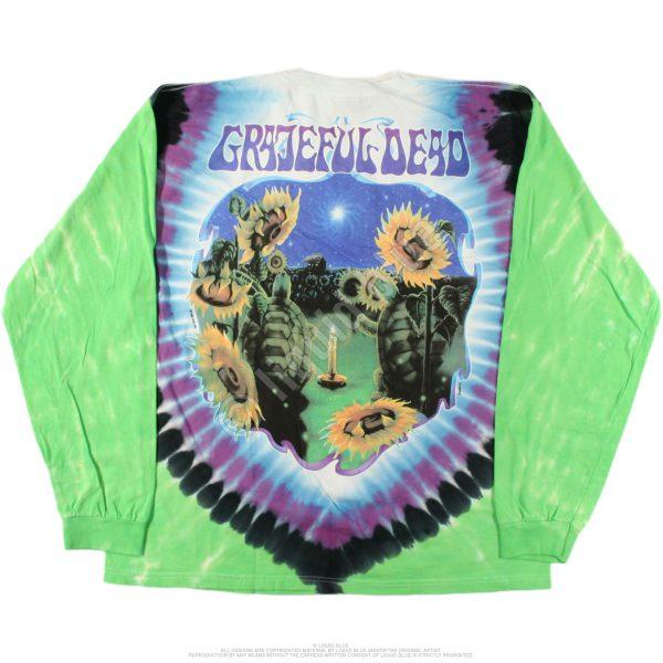 Grateful Dead Terrapin Station Tie-Dye Long Sleeve Shirt-3508