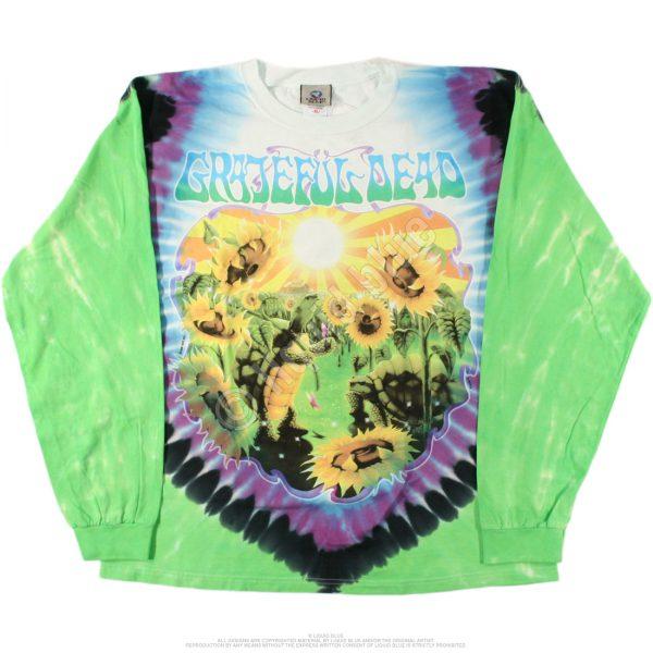 Grateful Dead Terrapin Station Tie-Dye Long Sleeve Shirt-0