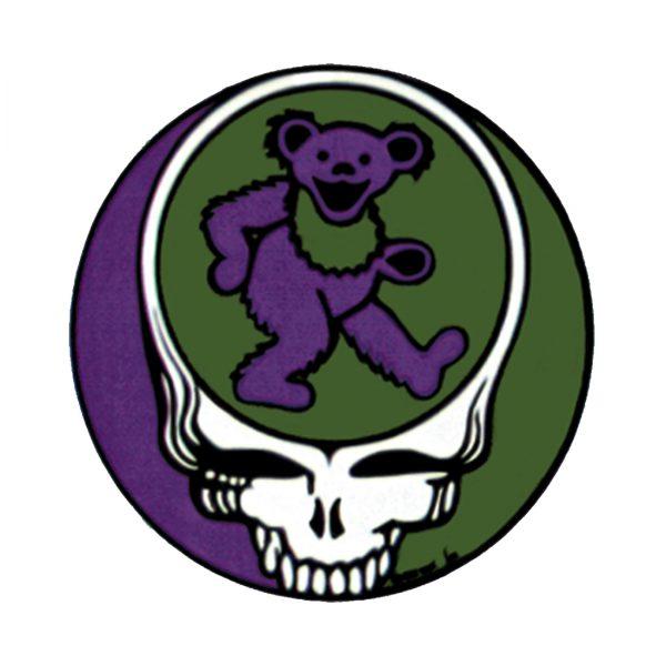 Grateful Dead Steal Your Bear Window Sticker