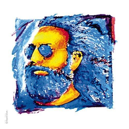 Grateful Dead Jerry Garcia Desert Face Window Sticker