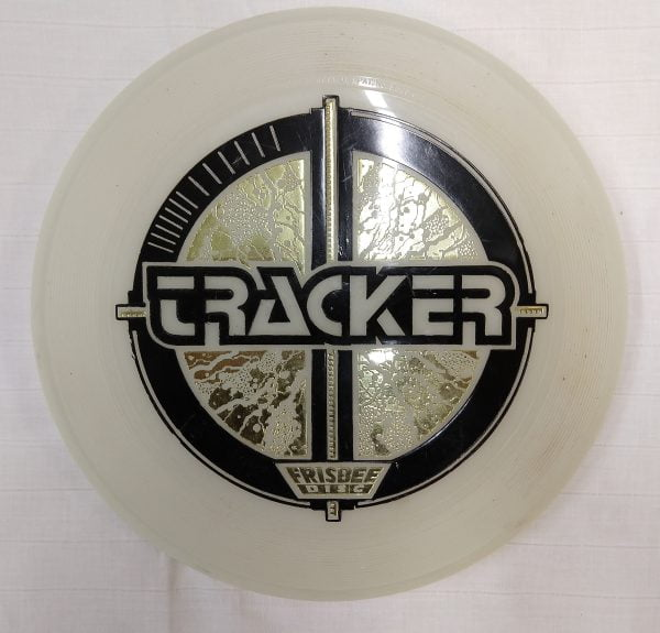 Wham-O Tracker Frisbee Glow In The Dark