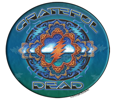 Grateful Dead Space Window Sticker